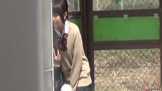Japanese Schoolgirls Wetting Their Panties